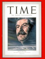 , , .  The magazine named Stalin  for the second time for , the first time for the year .