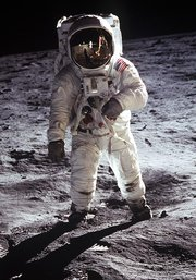 The Apollo Moon landings