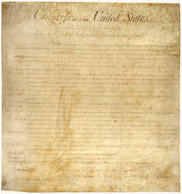 The American , enacted in , provides a list of basic guaranteed rights