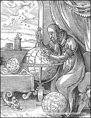 Medieval German Astronomer. Image provided by Classroom Clipart (http://classroomclipart.com)